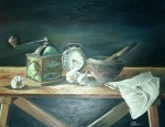 Obras de arte: Europa : España : Extrmadura_Cáceres : madroñera : bodegón1