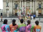 Obras de arte: America : El_Salvador : San_Salvador : San_Salvador_capital : instalacion pictorica