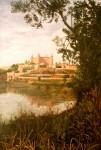 Obras de arte: Europa : España : Castilla_La_Mancha_Toledo : Toledo : Desde el Rio
