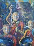 Obras de arte: Europa : España : Madrid : Madrid_ciudad : PEQUEÑOS LAMAS