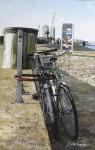 Obras de arte: Europa : España : Catalunya_Barcelona : Barbera_del_Valles : bici -playa
