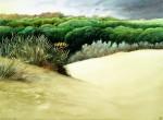 Obras de arte: Europa : España : Andalucía_Sevilla : sevilla : # 1069 -  Invierno en la playa. Isla Cristina (Huelva).