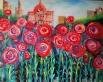 Obras de arte: America : Argentina : Santa_Fe : Rosario : Curiosa floración contingente