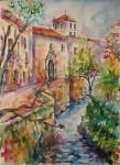 Obras de arte: Europa : España : Andalucía_Málaga : Torre_del_Mar : Paseo del Darro. Granada.