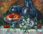 Obras de arte: Europa : Espa�a : Andaluc�a_M�laga : Torre_del_Mar : Frutas y Jazmines