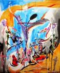 Obras de arte: America : Chile : Valparaiso : viña_del_mar : CRUCIFIXION I