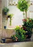 Obras de arte: Europa : España : Andalucía_Sevilla : sevilla : # 618C - Aquel florido patio...