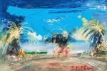 Obras de arte: Europa : Lituania : Kauno : LETONIA : playa