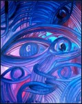 Obras de arte: America : Chile : Bio-Bio : Concepción : blu eyes