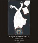 Obras de arte: America : Costa_Rica : Guanacaste : Tamarindo : Mujer de escarapela