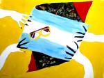 Obras de arte: America : Costa_Rica : Guanacaste : Tamarindo : Manos con banderas