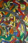 Obras de arte: Europa : España : Galicia_Lugo : Villalba : QUIJOTE Y TI TE CONSIDERABAN LOCO ¡QUE IRONIA¡