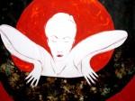 Obras de arte: America : Costa_Rica : Guanacaste : Tamarindo : Mujer