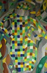 Obras de arte: Europa : España : Galicia_Lugo : Villalba : SEÑORITA CON SOMBRERO I