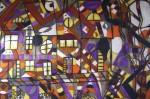 Obras de arte: Europa : España : Galicia_Lugo : Villalba : UNA CALLE CUALQUIERA DE UNA CIUDAD CUALQUIERA