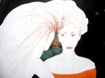 Obras de arte: America : Costa_Rica : Guanacaste : Tamarindo : Mujer de melena