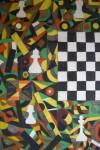 Obras de arte: Europa : España : Galicia_Lugo : Villalba : JUEGAN BLANCAS, ES MI TURNO