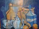 Obras de arte: America : Uruguay : Artigas : Artigas_ciudad : Desayuno de la abuela