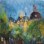 Obras de arte: America : Uruguay : Artigas : Artigas_ciudad : Los pintores de la Plaza Cataluña