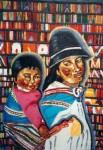 Obras de arte: Europa : Dinamarca : Kobenhavn : alb : Mama y niña