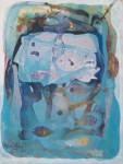 Obras de arte: America : Chile : Bio-Bio : Chillán : habitantes temporales del azul