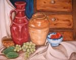 Obras de arte: Europa : España : Murcia : cartagena : Bodegon con pepinos