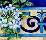 Obras de arte: Europa : España : Andalucía_Sevilla : sevilla : # 1178 - Plumbagos...