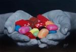 Obras de arte: Europa : España : Madrid : Madrid_ciudad : Generosidad con dulces colores