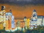 Obras de arte: America : Chile : Coquimbo : La_Serena : Santiago de Noche
