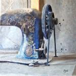 Obras de arte: Europa : España : Madrid : Madrid_ciudad : La vieja SINGER