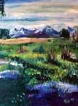Obras de arte: America : Argentina : San_Juan : SAN_JUAN_CIUDAD : paisaje calingastino