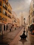 Obras de arte: Europa : España : Andalucía_Málaga : Málaga_ciudad : Calle Larios-Málaga