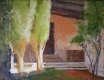 Obras de arte: Europa : España : Catalunya_Barcelona : Barcelona : Casona (patio interior)