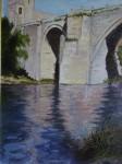 Obras de arte: Europa : España : Castilla_La_Mancha_Toledo : Toledo : Reflejos Puente de San Martín (Toledo))