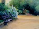 Obras de arte: Europa : España : Andalucía_Sevilla : sevilla : # 875 - El Banco solitario. Parque de la Alquería. Dos Hermanas (Sevilla)