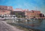Obras de arte: Europa : España : Melilla : Melilla_ciudad : antigua darsena pesquera