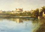 Obras de arte: Europa : España : Castilla_La_Mancha_Toledo : Toledo : Panorámica desde el Tajo (Toledo)