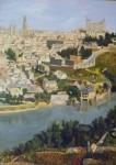 Obras de arte: Europa : España : Castilla_La_Mancha_Toledo : Toledo : Toledo desde el Valle