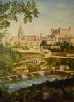 Obras de arte: Europa : España : Castilla_La_Mancha_Toledo : Toledo : Panorámica de Toledo