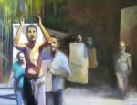 Obras de arte: America : Argentina : Buenos_Aires : Capital_Federal : Manifestación