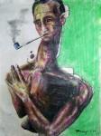 Obras de arte: America : México : Mexico_Distrito-Federal : iztapalapa : Amorfo con Pipa