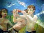 Obras de arte: America : Argentina : Misiones : Posadas : Natan y los peces