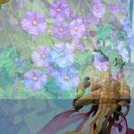 Obras de arte: Europa : España : Andalucía_Sevilla : sevilla : # Clls. 243 - Colage de Acuarelas y Flores