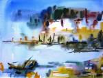 Obras de arte: Europa : España : Madrid : Alcorcón : MARINA EN AMARILLOS