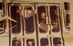Obras de arte: Europa : España : Andalucía_Málaga : Alhaurin_de_la_Torre : dos hombres en el metro