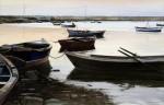 Obras de arte: Europa : España : Andalucía_Sevilla : sevilla : # 834 - Atardecer en la Ría Carreras. Isla Cristina (Huelva).