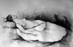 Obras de arte: Europa : España : Madrid : Pinto : Mujer con capote