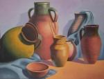 Obras de arte: America : Chile : Coquimbo : La_Serena : Simples jarrones