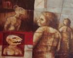 Obras de arte: America : México : Michoacan_de_Ocampo : Morelia : Estan ahí mientras el tiempo corre aqui afuera