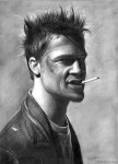 Obras de arte: America : Argentina : Santa_Fe : Rosario : Brad Pitt
